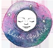 Klein afscheid logo