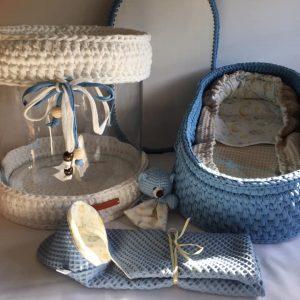 Sets met manden 45 cm (32 weken zwangerschap)