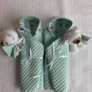 Omslagdoekjes tweelingen